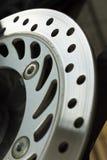 Ventilated disc brake Stock Photo
