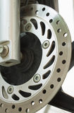 Ventilated disc brake Stock Images