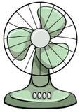 Ventilateur électrique illustration de vecteur