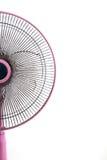 Ventilateur électrique sale sur le fond blanc Photographie stock libre de droits