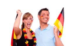 Ventilateur allemand Photographie stock libre de droits