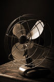 Ventilateur antique Photo stock