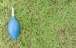Ventilateur bleu Photographie stock libre de droits