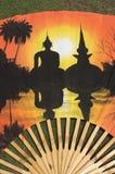 Ventilateur coloré Photo libre de droits