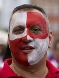 Ventilateur croate (Euro2012) Photos stock