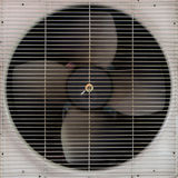 Ventilateur d'aérage de climatiseur photographie stock libre de droits