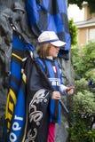 Ventilateur d'internazionale de club du football Image libre de droits