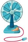 Ventilateur de bureau illustration libre de droits