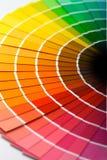 Ventilateur de couleur Images stock