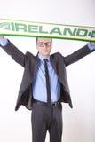 Ventilateur de l'Irlande Images libres de droits
