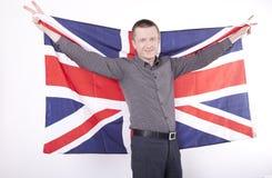 Ventilateur de la Grande-Bretagne Images libres de droits