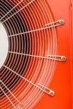 Ventilateur de moulins à vent dans une fan industrielle image libre de droits