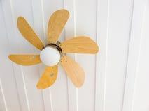 Ventilateur de plafond de maison Images libres de droits