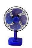 Ventilateur de table bleu Image stock
