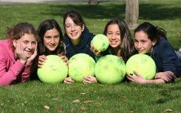 Ventilateur de tennis Photo libre de droits