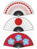 Ventilateur du Japon illustration de vecteur