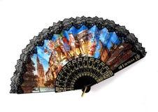 Ventilateur espagnol Photographie stock libre de droits