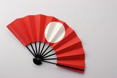 Ventilateur japonais image stock