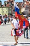 Ventilateur russe Image libre de droits