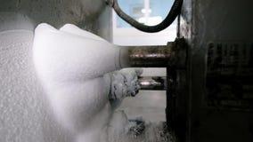 Ventilateur sur l'usine de gaz liquide Usine de séparation d'air clips vidéos