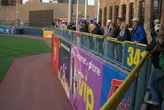 Ventilateurs de base-ball de poules de boue de Toledo Images stock
