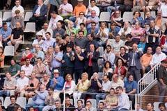 Ventilateurs de tauromachie Photos stock