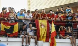 Ventilateurs espagnols Images libres de droits