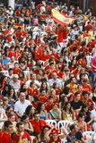 Ventilateurs espagnols Photo stock
