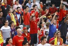 Ventilateurs espagnols Photos libres de droits