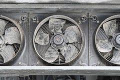 Ventilateurs industriels image stock
