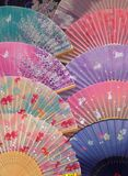 Ventilateurs japonais Image stock