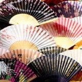 Ventilateurs japonais Photos stock