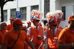 Ventilateurs néerlandais Photo libre de droits