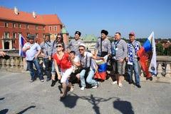 Ventilateurs russes Images libres de droits