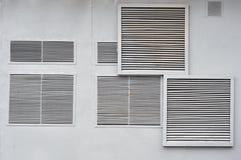 Ventilatie op de muur Royalty-vrije Stock Afbeelding