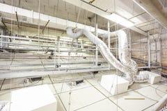Ventilatiesysteem voor ventilatie royalty-vrije stock afbeeldingen