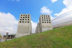 Ventilatietraliewerk voor Sapporo-koepel sapporo Stock Foto's