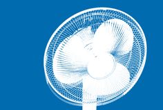 Ventilating fan Stock Image