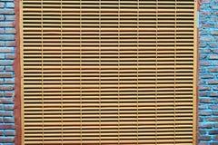Ventilation abstraite de fond sur la fin de mur  photos stock