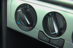 Ventilation in car Royalty Free Stock Images
