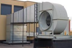 Ventilation de bâtiment Photographie stock