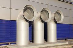 Ventilation de pipe photographie stock libre de droits