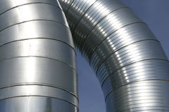 Ventilation ducts Stock Image