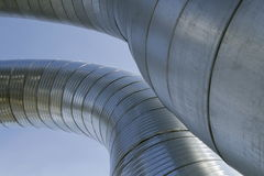 Ventilation ducts Royalty Free Stock Photos