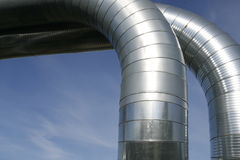 Ventilation ducts Stock Photos