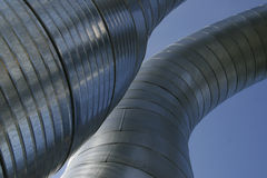 Ventilation ducts Royalty Free Stock Photography