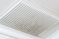 Ventilation dust royalty free stock images