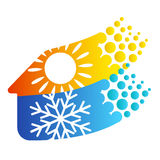 Ventilation et climatisation Images stock