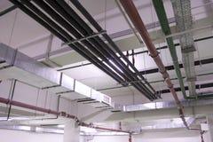ventilation för teknikservice Fotografering för Bildbyråer