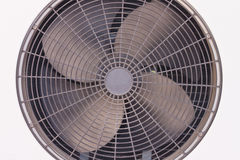 Ventilation fan. Of air conditioner Royalty Free Stock Photo